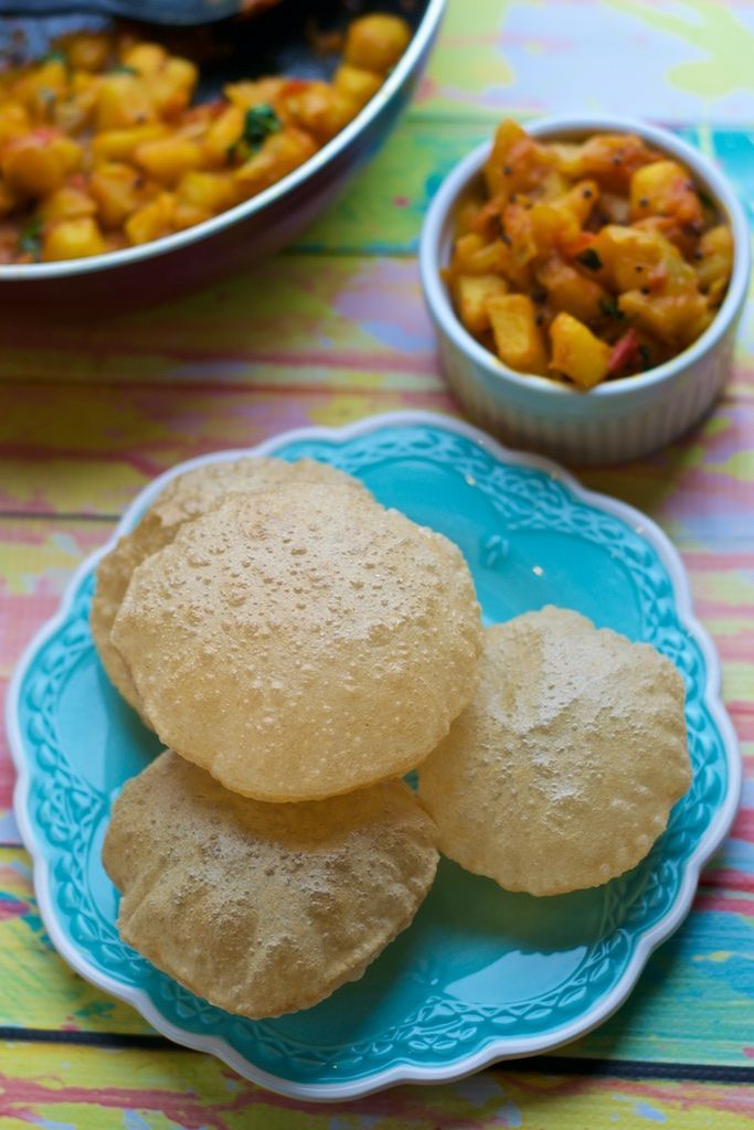 Love Pooris? Here's a failproof recipe to make those puffed up pooris that we all love!