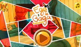 Ege ile Gaga Tangram,Bu klasik Tangram bulmaca hedefi, belirli bir şekil oluşturmaktır. Düz blokları bir araya getirin ve siluetin verdiği şekli yaratın