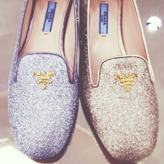 Prada Flats-wore these at my daughters wedding! So comfy!!