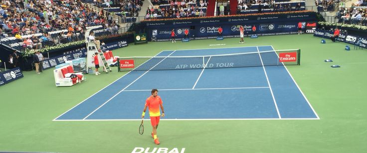 Dubai tennis stadium