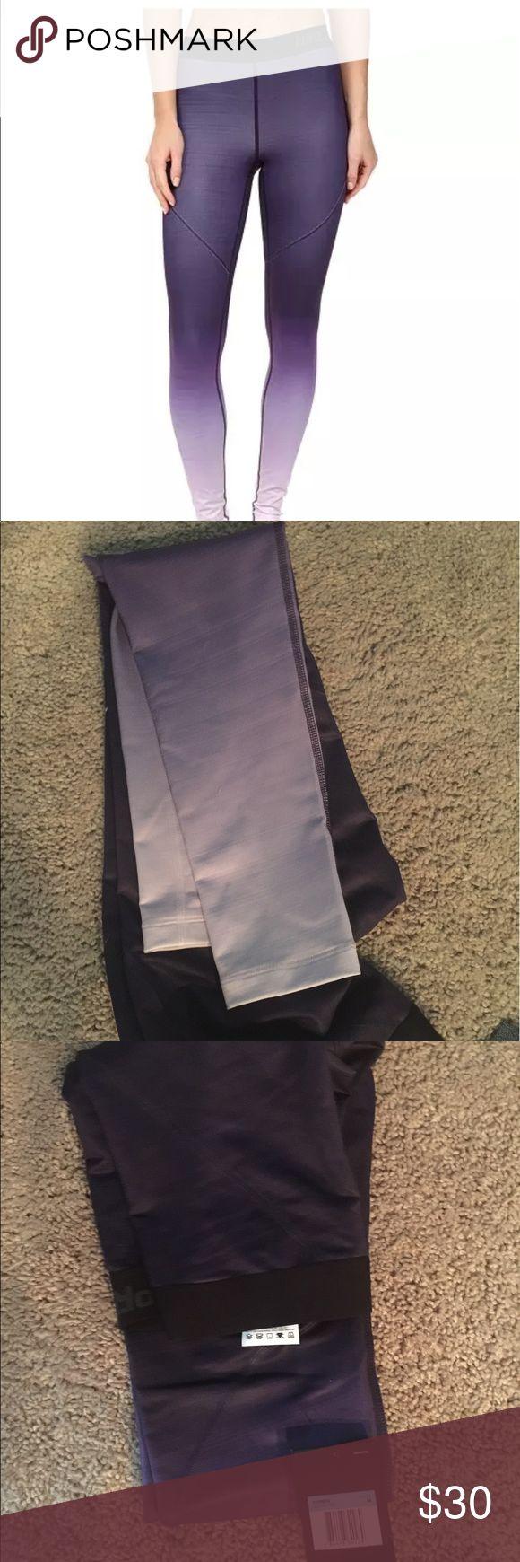 Nike pro pants M Dark purple that fades into light purple , Nike pro pants size medium. Not juniors Nike Pants Leggings