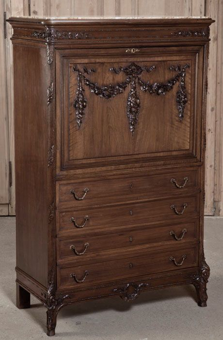 Antique Louis XVI Secretaire   Antique  Desk  Secretaries   Inessa  Stewart s Antiques  office   Antique DeskHome Office FurnitureLouis. 200 best Antique Home Office Furniture   Library images on