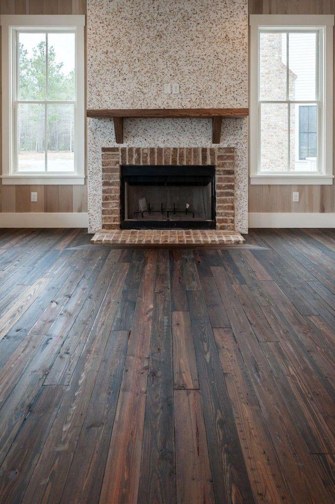 Distressed southern pine flooring flooring pinterest for North wood flooring