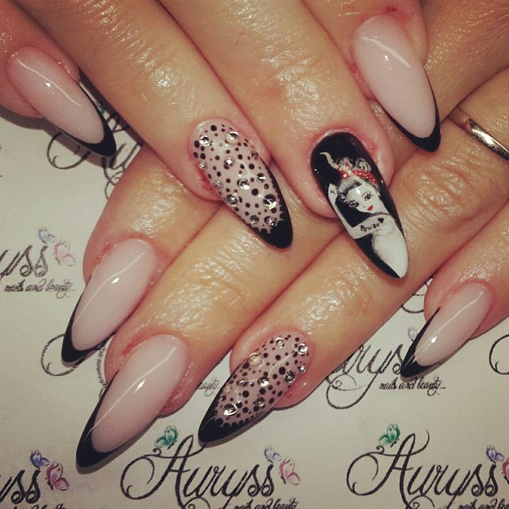 114 best nails art painting images on pinterest nail art nail nails art painting girl prinsesfo Images