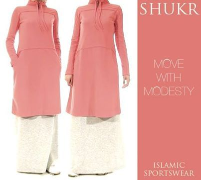 Move with Modesty and exercise in comfort with SHUKR's intelligently designed sportswear.