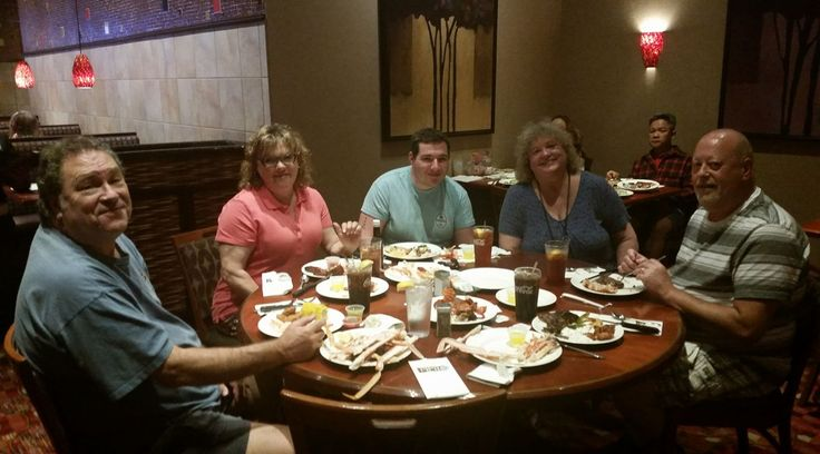 5-29-17   Valley View Lobster Buffet  with T, Dawn and Sean