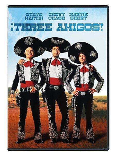 Steve Martin & Chevy Chase & John Landis-Three Amigos