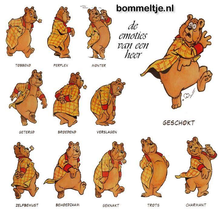 Olivier B Bommel en zijn emoties ...