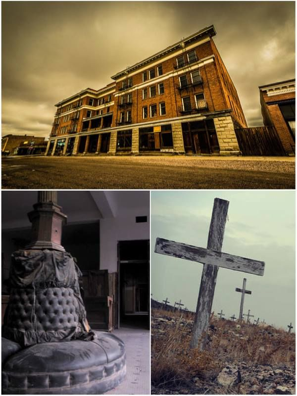 Dare ye visit one of the most haunted hotels in America?  Abandoned since 1946, this cursed hotel is believed to be built on a vortex to hell...