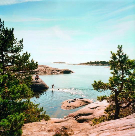 Utö - scherenkust van Stockholm
