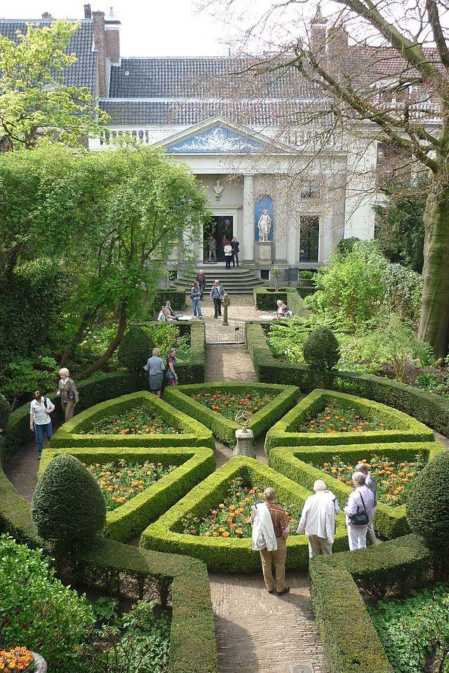 Beautiful French Garden In 2020 Garden Paths Beautiful Gardens Lavender Garden