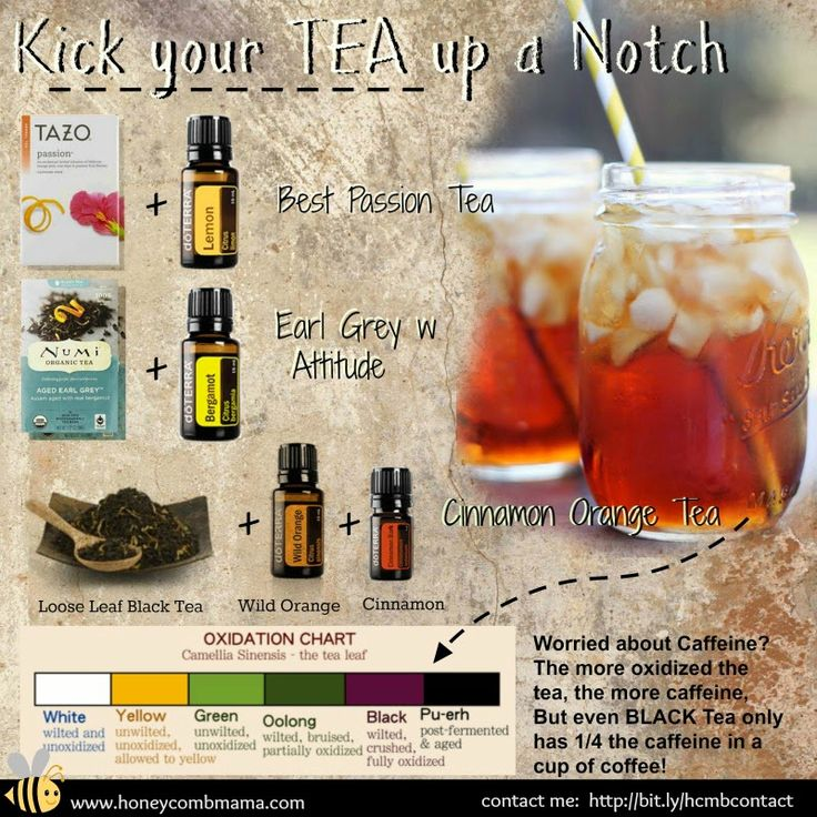 Make Tea, not war -- Monty Python ~ Essential Oils for your Tea