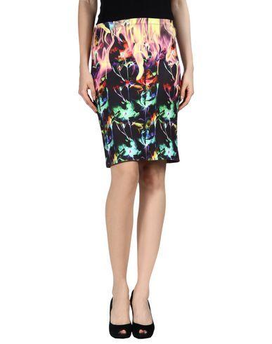 CLOVER CANYON Knee length skirt. #clovercanyon #cloth #dress #top #skirt #pant #coat #jacket #jecket #beachwear #