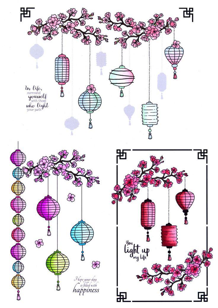 Lovely Lantern Inspiration Board