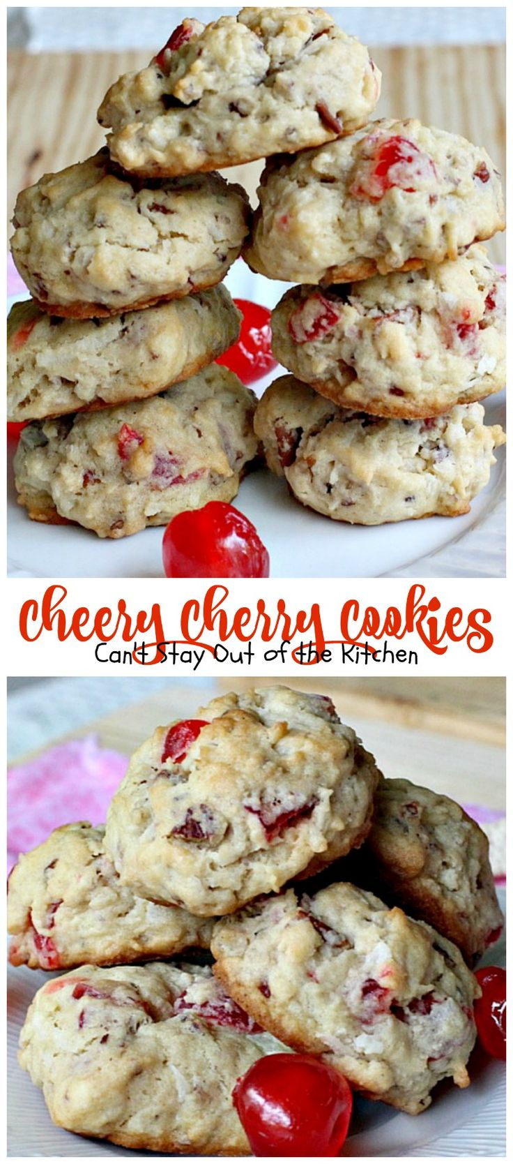 Maraschino cherry coconut cookie recipes