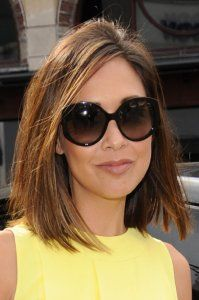 <center> Myleene Klass is the latest celebrity to jump on the bob bandwagon and we can see why! Her caramel shade looks so much healthier with a clean, blunt finish and takes years off!