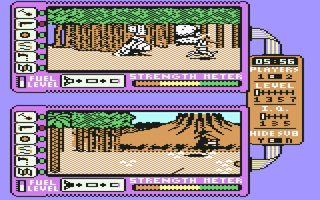 Spy vs Spy II (Commodore 64) Many many hours spent playing this