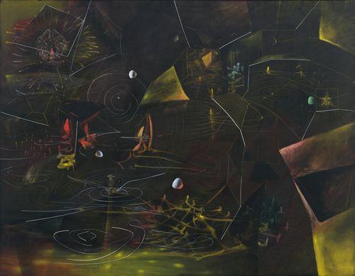 The Vertigo of Eros - Roberto Matta