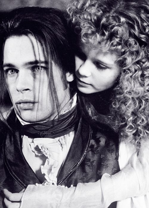 Brad Pitt and Kirsten Dunst in Interview with the Vampire.