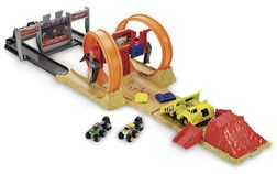 Hot Wheels Monster Jam Minis Double Loop Playset from Target Canada $19.99