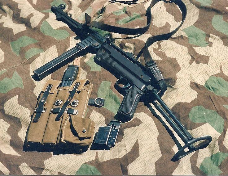 German MP40 sub machine gun