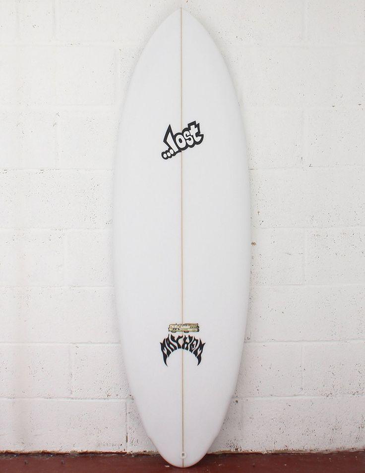 Lost Surfboards Stretch RV Surfboard 6ft 0 FCS II - White - Lost Surfboards - Brands