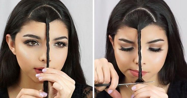 Como hacer un flequillo