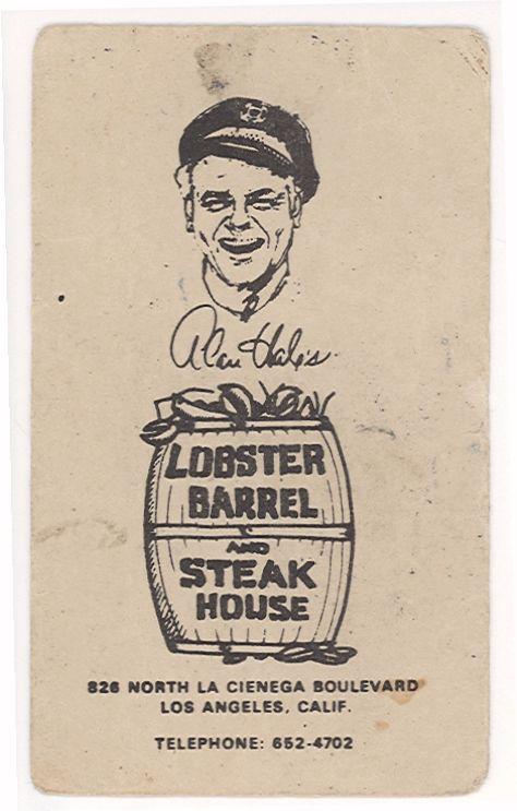 alan hale jr   Alan Hale Jr Restaurant Alan hale's lobster barrel