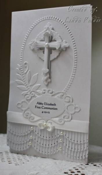 CAS165, Abby's 1st Communion by Holstein - Cards and Paper Crafts at Splitcoaststampers