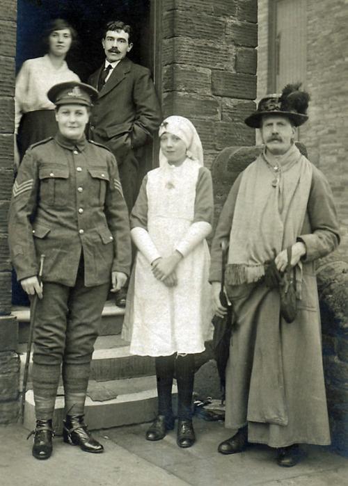 Plumed Hat and Uniform, c. WW1