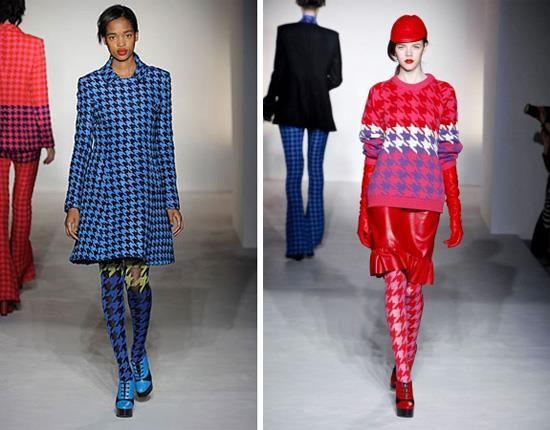 Платье в клетку молодежная мода