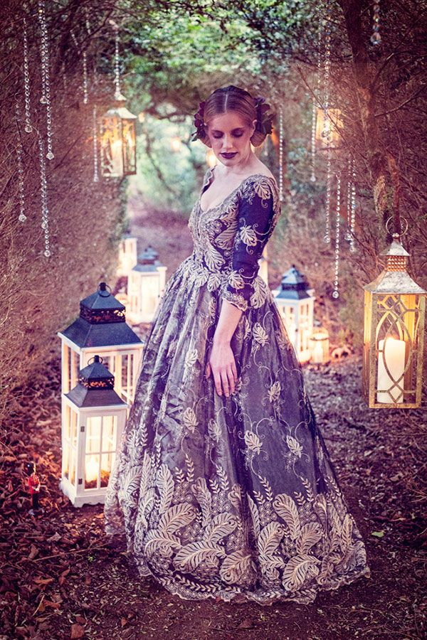 A Couture Tale of Rich Hues and Textiles
