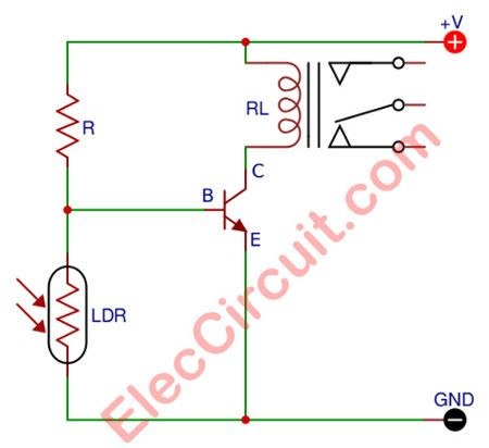 26 best Lighting Circuits images on Pinterest | Circuits and Ldr