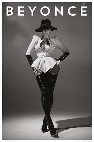Beyoncé - Hat Musik Soul Diva - Back - Musik Poster Druck - Grösse 61x91,5 cm