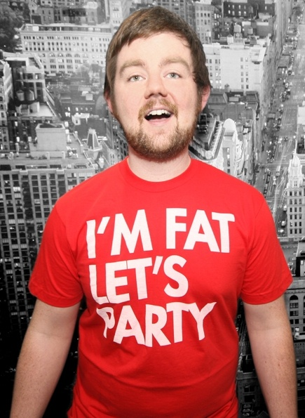 I'm Fat Let's Party tee $22.99 from Seibei. God, I need this shirt.