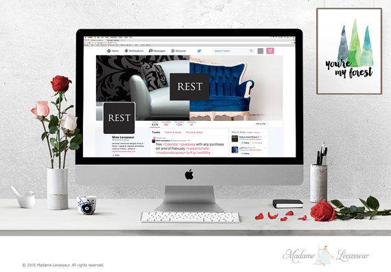 wordpress header design hero image header premade logo design website header social