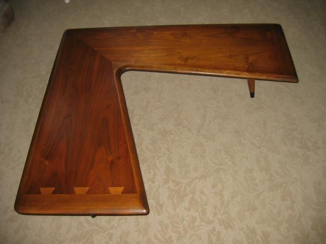 Lane Acclaim Boomerang Table Mid Century Furniture