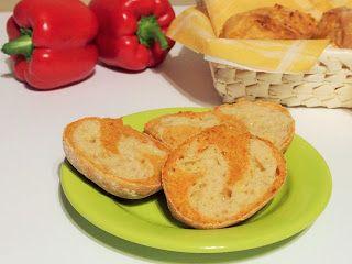 Wypieki Rene: Bułki paprykowo serowe
