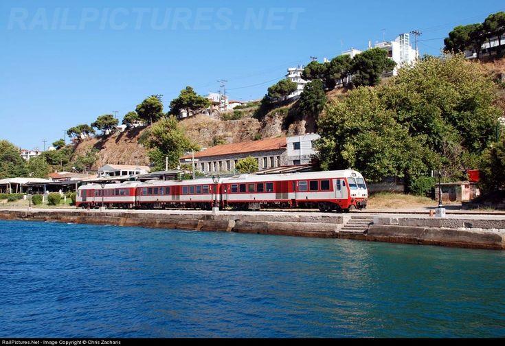 RailPictures.Net Photo: 6507 OSE Hellenic Railways MAN-4 at Egio, Greece by Chris Zacharis