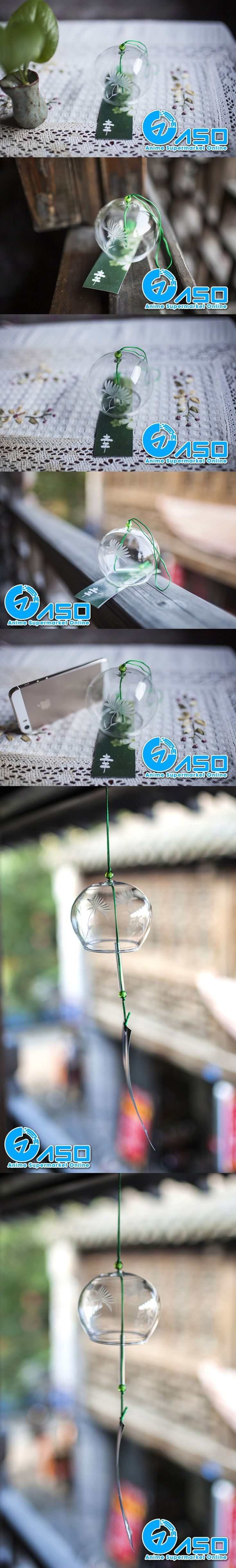 2pcs garden glass wind chimes feverfew Style Japanese Traditional wind bell car hanging pendant home decoration birthday gifts-in Glass Crafts from Home & Garden on Aliexpress.com | Alibaba Group