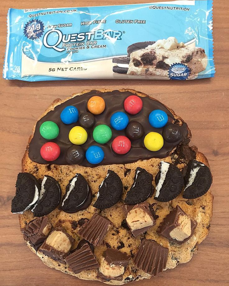 Now THIS is how yo use a Quest Bar - Unbelievable from @Ptheledge