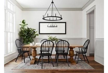 Magnolia Home Concord Dining Table By Joanna Gaines – Brown – Wood – 96″W x 44″D x 28″H