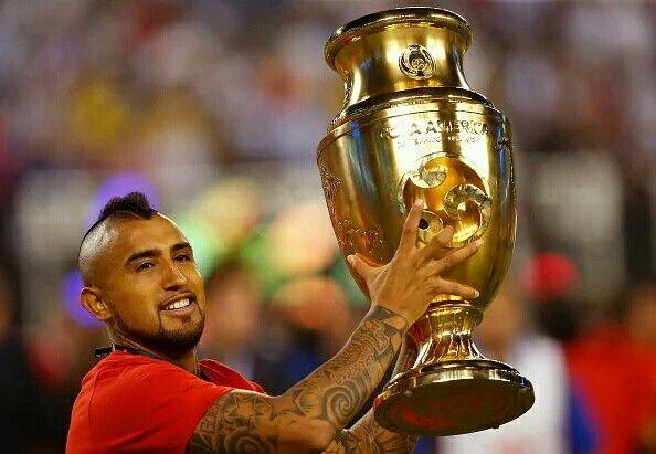 CHILE 16 Vidal Campeon de la Copa America 2016