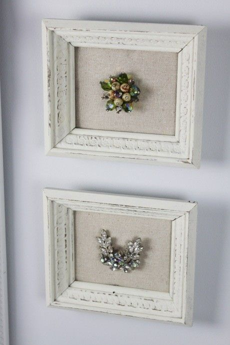frame grandma's jewelry or knick-knacks by KEHedmond