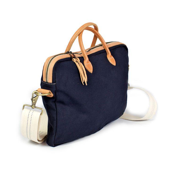 Classic Laptop Bag Navy