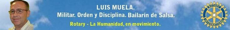 Luis Muela, President 2013-2014 Rotary Club of Tres Cantos- D.2201