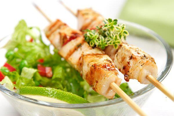 Fish kabob aria 39 s persian cuisine california food for Aria persian cuisine