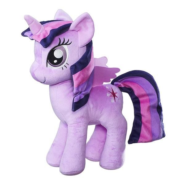 This is a My Little Pony Princess Twilight Sparkle 12 Inch Plush Figure that's produced by the good folks over at Hasbro. Twilight is roughly 12 inches tall an