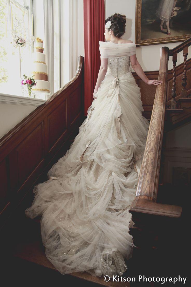 Ian Stuart 'Antoinette' dress modelled by @Vanessa Garbini Montecalvo- available at Nicole Bridal & Formal in Jenkintown, PA, 215-886-2333; www.nicolebridal.com