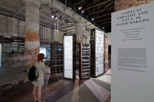 Venice Biennale 2012: Copycat, Empathy and Envy as Form Makers / Cino Zucchi Architetti